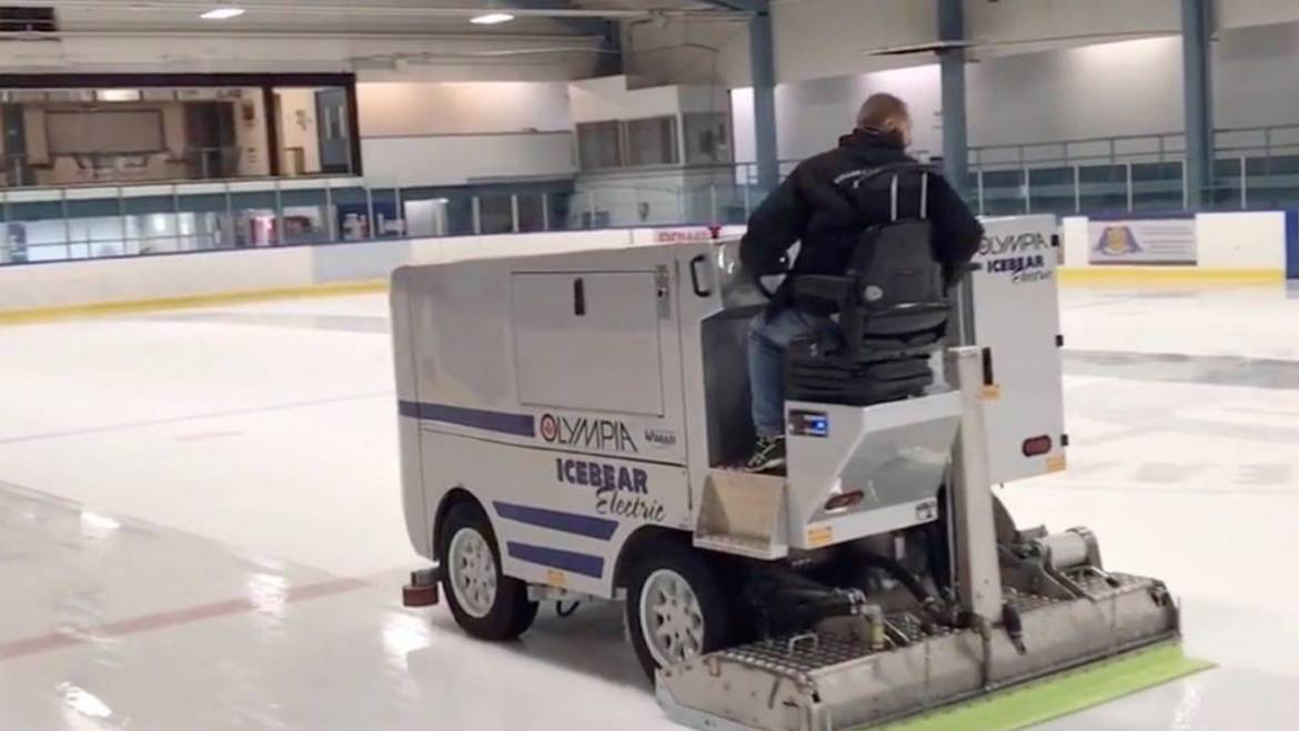 North Cowichan goes green with Olympia electric ice resurfacer