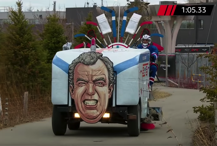 Olympia Ice Resurfacer Featured on The Grand Tour on Amazon Prime